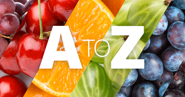 A to Z of fruit benefits