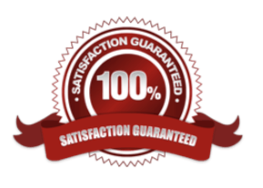 100% Satisfaction Gauantee