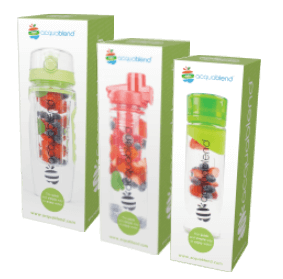 Acquablend fruit infusion water bottles boxed